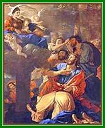 [Aparición de la Virgen del Pilar a Santiago de Nicolás Poussin. 1628]